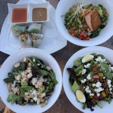 Gluten-free lunch at Spa Cafe at Ojai Valley Inn