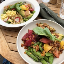 Gluten-free salads from Great White