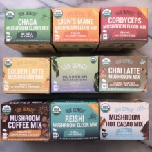 Mushroom coffees and elixirs from Four Sigmatic