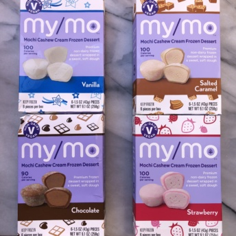 Gluten-free mochi ice cream by My/Mo Mochi