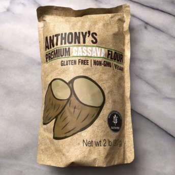 Cassava flour from Anthony's Goods