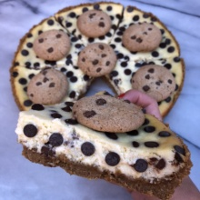 Gluten-free Chocolate Chip Cheesecake
