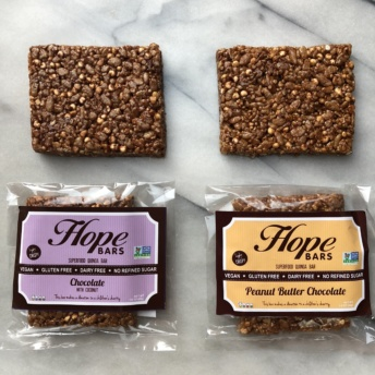 Gluten-free bars by Hope Bars