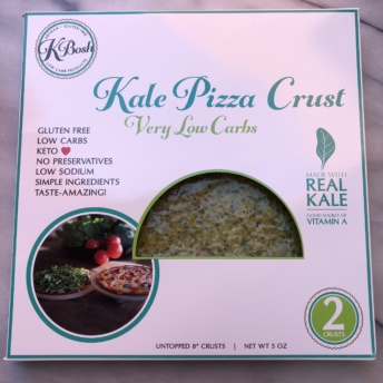 Kale pizza crust by KBosh Food