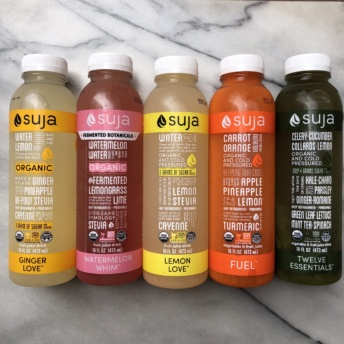 Non-GMO juices by Suja