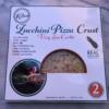 Zucchini pizza crust by KBosh Food