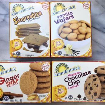Gluten-free cookies by Kinnikinnick