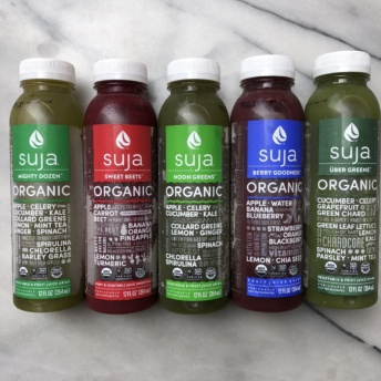 Organic juices from Suja