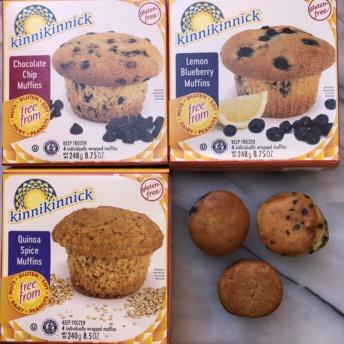 Gluten-free muffins by Kinnikinnick