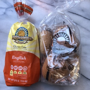 Gluten-free English muffins and rolls by Kinnikinnick