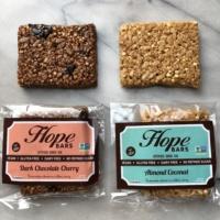Gluten-free vegan quinoa bars by Hope Bars
