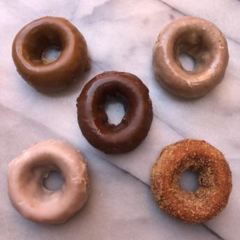 Gluten-free donuts by Kinnikinnick