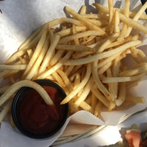 Gluten-free fries from Tony P's Dockside Grill