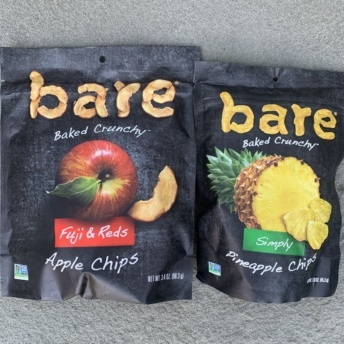 Apple and pineapple chips by Bare Snacks