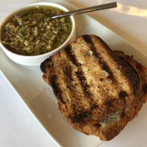 Gluten-free bread from Cafe del Rey