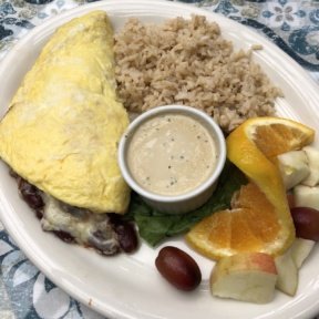 Gluten-free omelet from The Spot