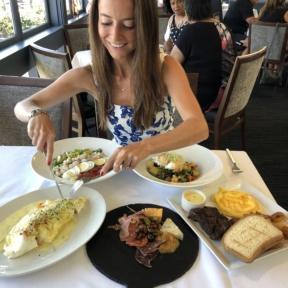 Jackie at Cafe del Rey in LA