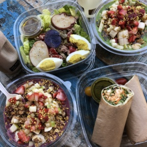 Gluten-free amazebowls from Kreation