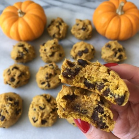 Chocolate Chip Pumpkin Cookies using ingredients from Vitacost