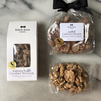 Candied nuts by Black Bow Sweets