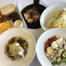 Gluten-free brunch from Cafe del Rey