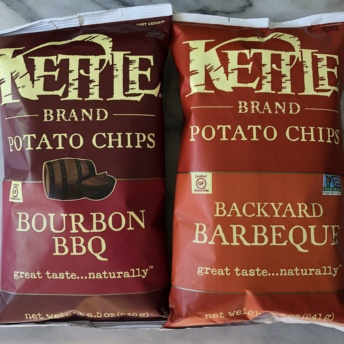 BBQ chips by Kettle Brand