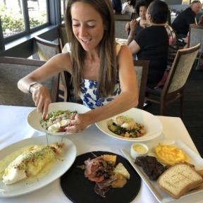 Jackie at Cafe del Rey in Marina del Rey