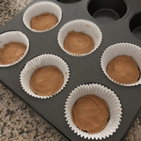 Making Peanut Butter Cups