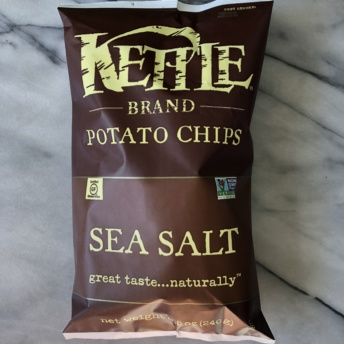 Sea salt chips by Kettle Brand