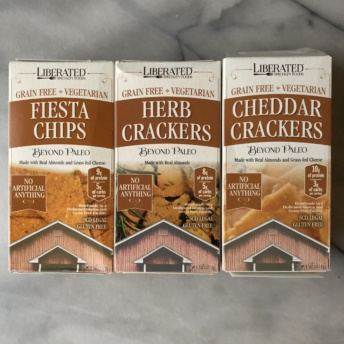 Gluten-free paleo crackers by Liberated Specialty Foods