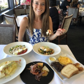 Jackie at Cafe del Rey in MDR