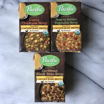 Gluten-free soups by Pacific Foods