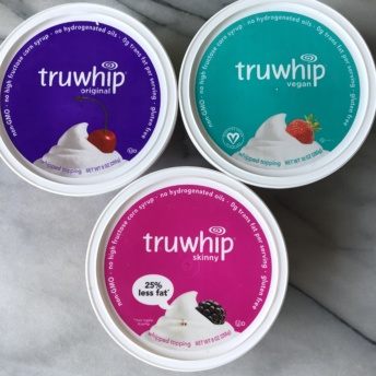 Gluten-free non-GMO whipped topping by truwhip