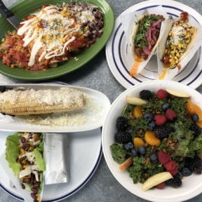 Gluten-free dinner from Taco Guild