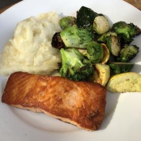 Salmon from Phoenix Public Market Cafe