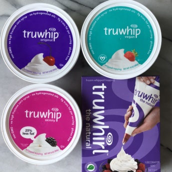 Gluten-free whipped topping by truwhip