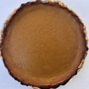 Delicious gluten-free Pumpkin Pie
