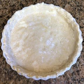 Gluten-free crust for Pumpkin Pie