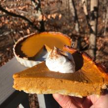 Gluten-free dairy-free Pumpkin Pie