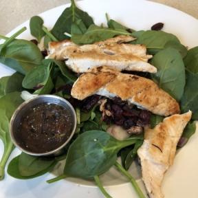 Gluten-free salad from Wild Eggs