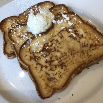 Gluten-free French toast from Wild Eggs