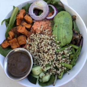 Gluten-free bowl from Luci's at the Orchard