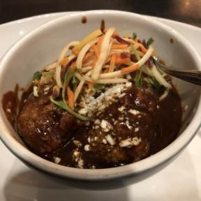 Meatballs from Kitchen West Restaurant