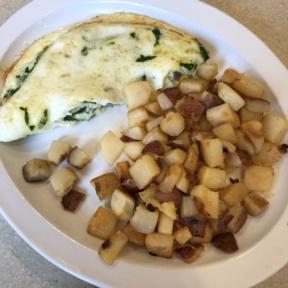 Gluten-free omelette from Wild Eggs