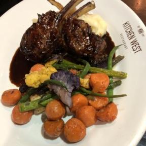 Lamb from Kitchen West Restaurant
