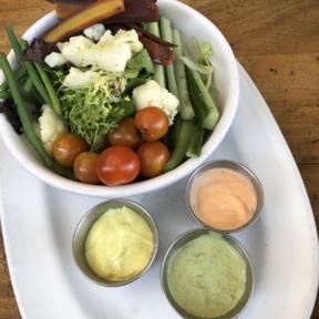Gluten-free salad from Phoenix Public Market Cafe