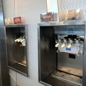 Gluten-free frozen yogurt at Zooies