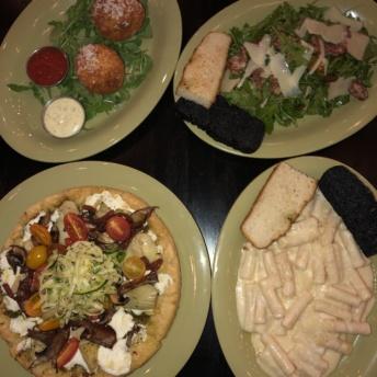 Gluten-feee dinner from Mangia Nashville