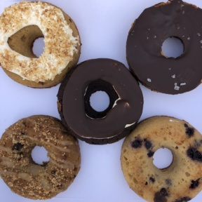 Gluten-free paleo donuts from Five Daughters Bakery