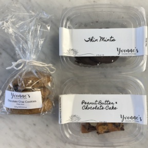 Gluten-free vegan desserts from Yvonne's at Scout